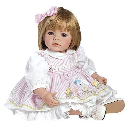 Adora ToddlerTime Pin-a-Four Seasons Doll with Four Hand-Sewn Interchangeable Outfits
