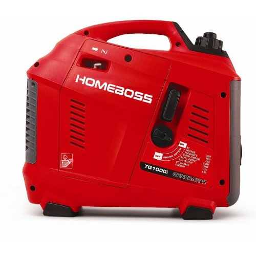 HomeBoss Groupe Electrogène 1000i - Silencieux/Inverter - 1000W
