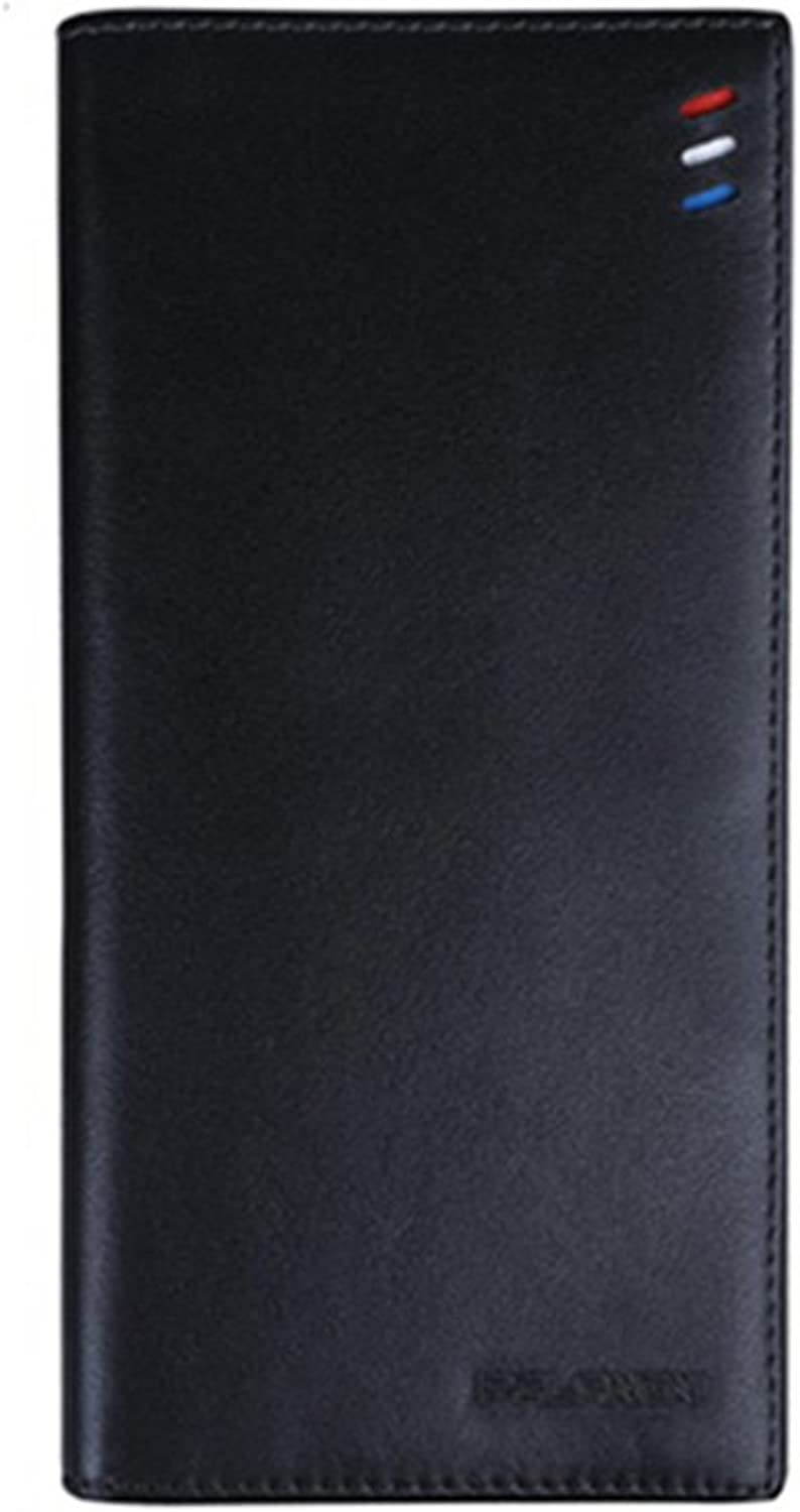 QIDI Wallet Men Genuine Leather Long Section The New Soft Leisure