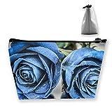 Blue Enchantress - Bolsa de maquillaje (tamaño grande, trapezoidal), color azul