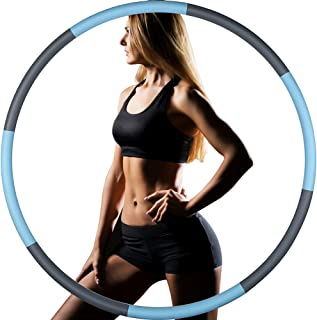 UV STYLISH Weighted Hoola Hoops for Adults Weight Loss...