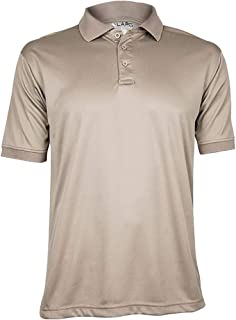 Men's Anti-Wrinkle Moisture Wicking Recon Jersey Polo Shirt -
