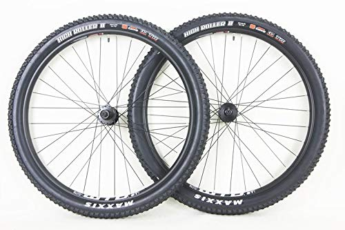 Quality WTB 27.5 inch ST i25 Disc Brake TCS Wheel Set with Maxxis High Roller 27.5 x 2.30 Tires Tubes! Tubeless Ready