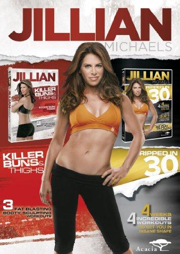 Jillian Michaels - Ripped in 30 / Killer Buns & Thighs [UK Import]