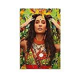 liutao Lisa Haydon 2020 Bollywood Poster, dekoratives