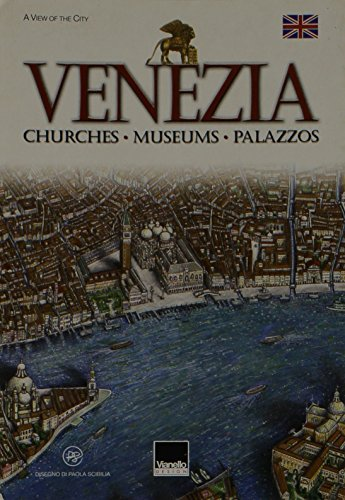 Small Poster Map of Venice