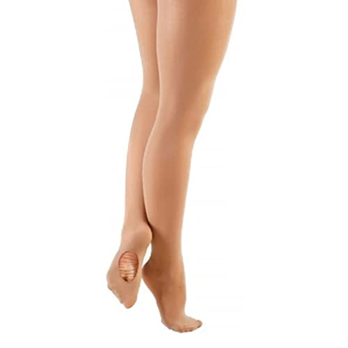 b947cc6abc374 Ladies Tan Convertible Dance Tights