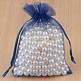 100 piezas 24 colores bolsa de joyería regalo de boda bolsas de organza embalaje de joyería y bolsas de joyería-18 Montana_Los 5x7cm