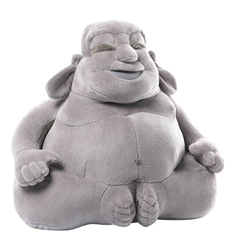 GUND Huggy Buddha Gray Plush, 11 inches