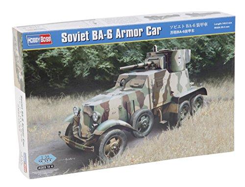 Hobby Boss 83839 – Modélisme Jeu de Soviet BA 6 Armor Car
