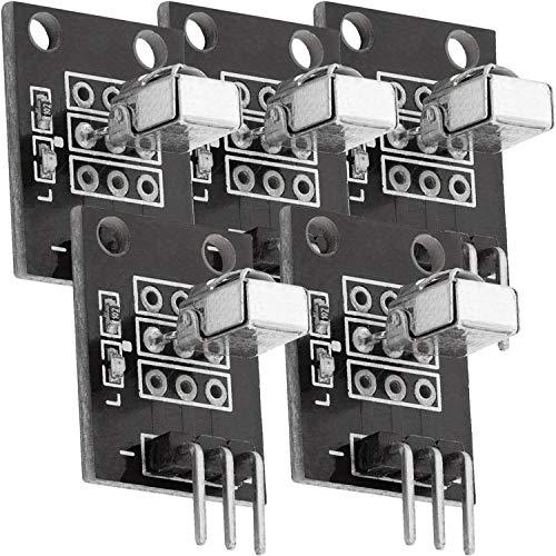 AZDelivery 5 x KY-022 Set IR Empfänger Infrarot Receiver CHQ1838 Sensor Modul kompatibel mit Arduino inklusive eBook!