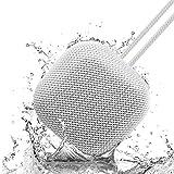Omthing Haut-Parleur Bluetooth Sound Core Mini, Enceinte Bluetooth Portable avec 15 Heures de Lecture, Basses améliorées, réduction du Bruit avec Microphone Gris EO004 pour Travail, Maison, Bureau