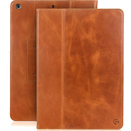 Casemade New iPad 10.2 inch Real Leather Case for 7th/8th/9th Generation...