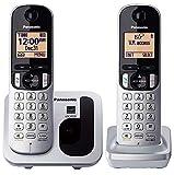 Panasonic KX-TGC212 - Teléfono fijo inalámbrico Dúo...