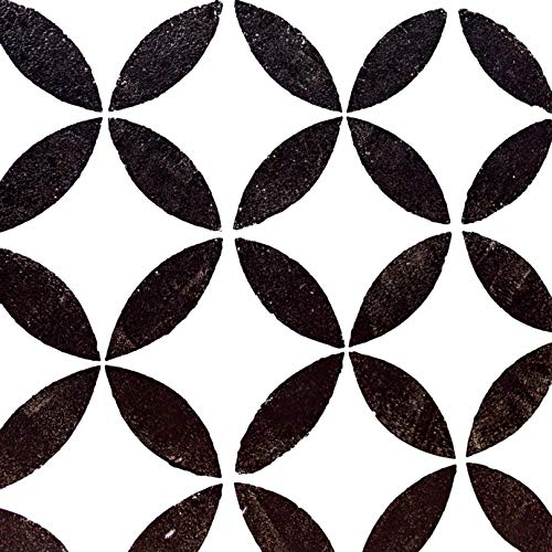 More Lovely Days Reusable Floor Stencils for Painting Floors, Wall Tile, Wood, and Concrete - Tile Stencil 12x12 Inch (2 Pack) - Floor Stencil Large