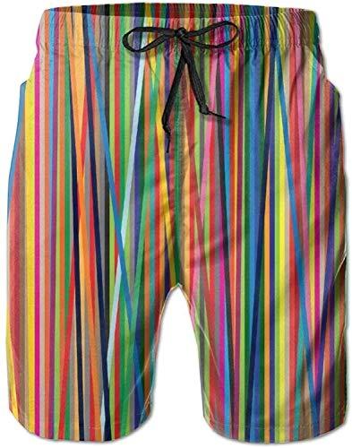 GYYbling Pantalones de natación Cortos de Tacto Suave para Hombres con patrón gráfico Pantalones de Playa