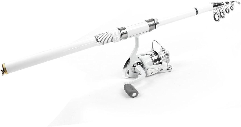 8 in 1 FischeBobbers Fishooks Alarm Glocke 7.9 Ft Angelrute Angelrute Angelrute Weiß Set B01EZPC2AQ  Große Klassifizierung 496d72