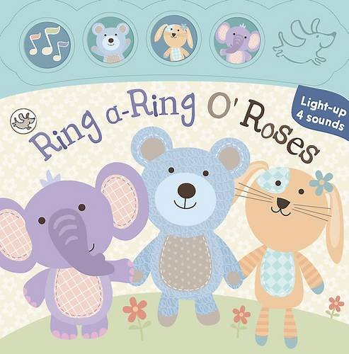 Little Learners Mini Sound and Light Book Ring-a-Roses
