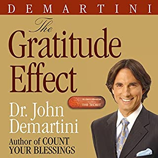 The Gratitude Effect audiobook cover art