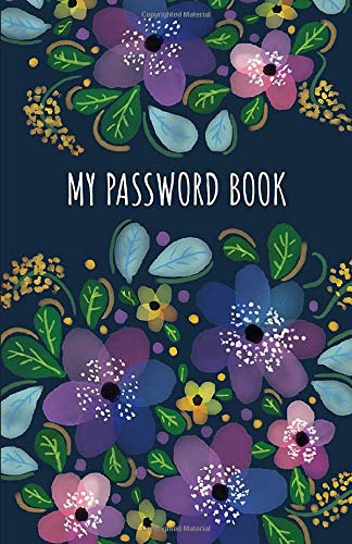 My Password Book: Internet Address Organizer | Password Logbook | Internet Password Book with Tabs | Password Booklet