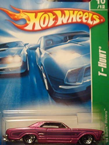 Hot Wheels Treasure Hunt issue '64 Buick Riviera  10 1 64 2008 by Mattel