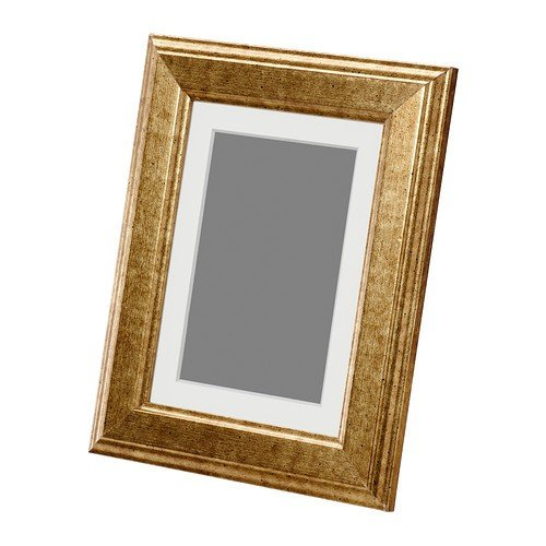 IKEA VIRSERUM -Gold -Rahmen - Farbe - 13x18 cm