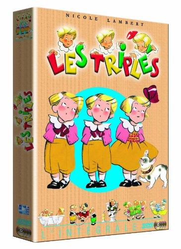 Les Triplés : Coffret intégrale avec lenticulaire (3 DVD)