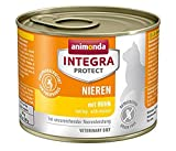 animonda Integra Protect Renal para gatos, comida húmeda para gatos con...