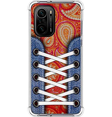 Funda Silicona Antigolpes para Xiaomi Poco F3 5G diseño Zapatillas 10 Dibujos