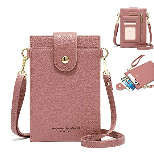 purs with lighters Womens Crossbody Cellphone Bag Small Shoulder Purse Card Holder Wallet Pouch