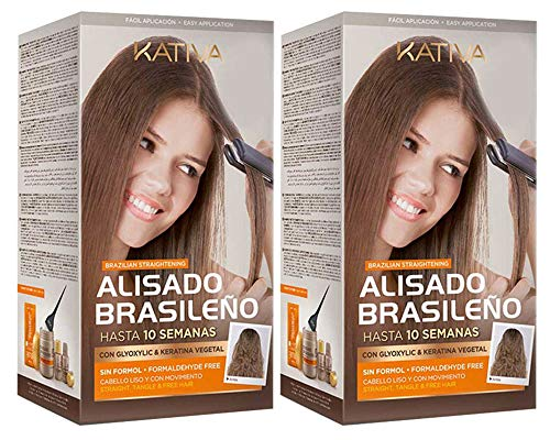 Kativa Keratina y Argán - Kit stirante brasiliano PACK 2x150 ml