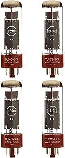 Brand New Tung-Sol Reissue EL34B Plate Current Matched Quad (4) Vacuum Tubes