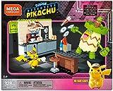 Mega Construx Pokemon Detective Pikachu, Hi-Hat Café, Jeu de Construction, 325 Pièces, pour Enfant dès 6 ans, GGK27