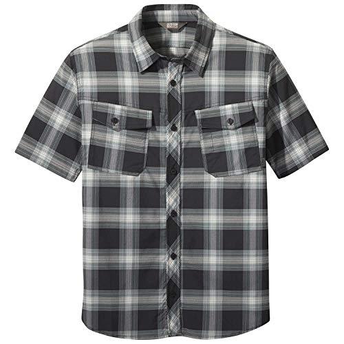 Outdoor Research Wanderer S/S Shirt black plaid XXL