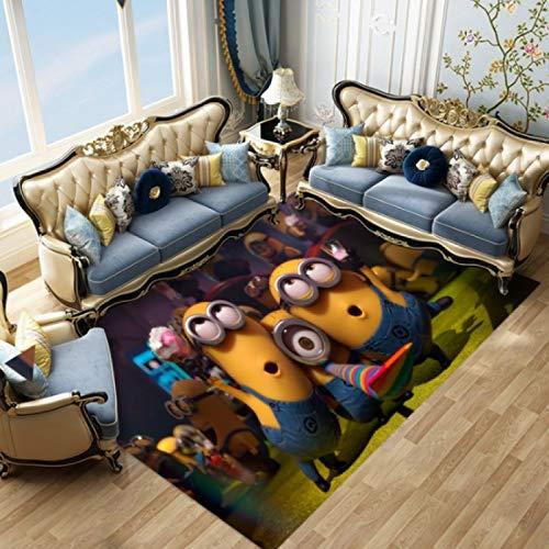 maishi Teppich Schlafzimmer Wohnzimmer Tür Cartoon Küche Bereich Bodenmatte Badezimmer rutschfeste Wohnkultur Rechteck Lustige Gelbe Minion Fußmatten