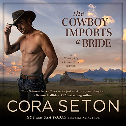 The Cowboy Imports a Bride audiobook cover art