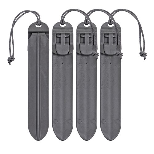 "VANQUEST 5"" MOLLE Sticks (4 Pack) (Wolf Gray)"