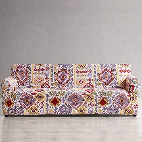 WXQY Funda de sofá Europea con Todo Incluido Fundas de sofá con Estampado Floral para Sala de Estar Sofá Toalla Funda para Muebles Sillón Funda para sofá A1 1 Plaza