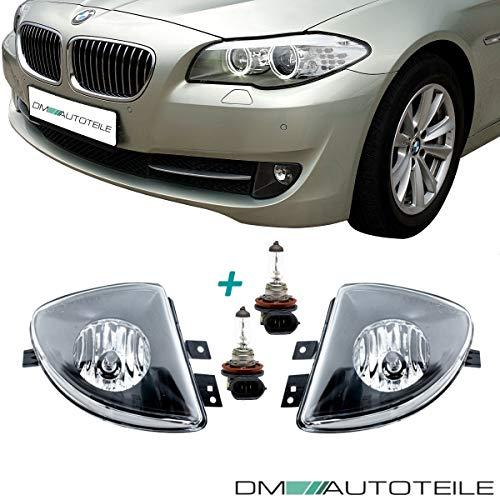 DM Autoteile Nebelscheinwerfer SET Rechts & Links Klarglas für 5er F10 F11 ab 2010-2013