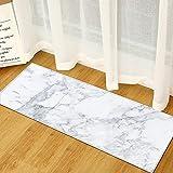 OPLJ Simplicidad Alfombra de Cocina Felpudo de Entrada hogar Dormitorio decoración Alfombra Pasillo balcón baño Alfombra Antideslizante A18 50x160cm