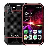 Teléfono móvil Doble hacia atrás la cámara, Face ID y identificación de huellas dactilares, de 3,0 pulgadas Android 6.0 MTK6737M Quad Core a 1,3 GHz hasta, Dual SIM, Bluetooth, Wi-Fi, GPS, NFC, red: 4