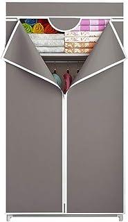 JHNEA Armoire en Tissu Penderies, Penderie en Tissus Armoire de Stockage Portable Armoire de Rangement Garde-Robe EtagèRes...