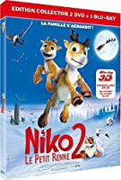 Niko le petit renne 2 - Edition Collector 2 DVD + 1 Blu-ray [Blu-ray 3D]