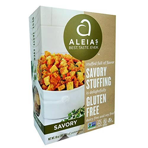 packaged stuffing side dishes Aleia's Gluten Free Savory Stuffing - 2 Pack