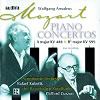 Curzon Plays Mozart Piano Concertos by WOLFGANG AMADEUS MOZART (2001-09-25)
