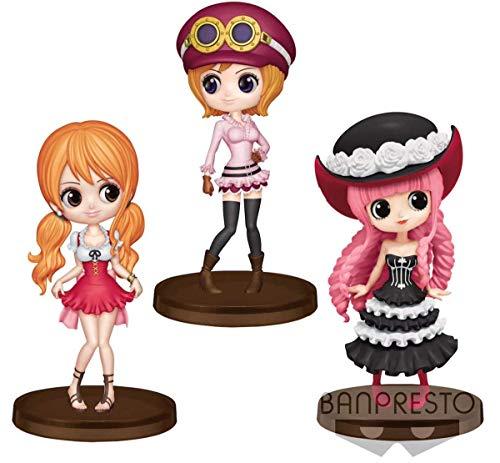 Banpresto One Piece Q posket petit vol.2 nami koara Verona 7cm 3set figure