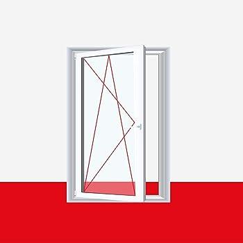 Kunststofffenster Badfenster Ornament Milchglas Weiss Dreh Kipp Anschlag Din Links Glas 3 Fach Bxh 1000x800 Amazon De Baumarkt