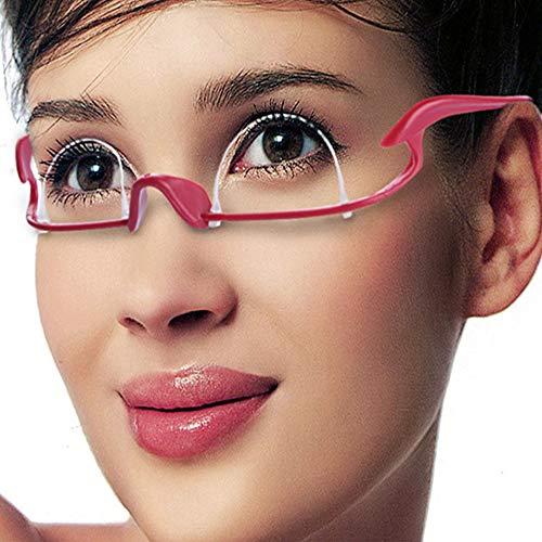 HIRAISM 二重まぶた くせ付け メガネ 矯正 ツール 軽量 ピンク