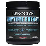 Pre Workout Powder, Post Workout Recovery Drink, Keto-Friendly, Amino Energy, BCAA Energy, Sugar Free, Energy Powder, BCAAs Amino Acids, Immune Booster for Adults, 30 Servings Fruit Punch Men & Women