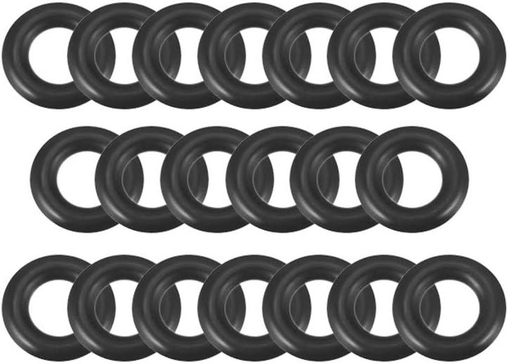 38/mm OD lot de 5 Carte de Source joints toriques en caoutchouc nitrile 28/mm de diam/ètre int/érieur 5/mm de largeur rond Joint d/étanch/éit/é